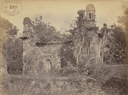 View of the right-hand side of the ruins of the Kali Mandir at Chintarian, Devikot
